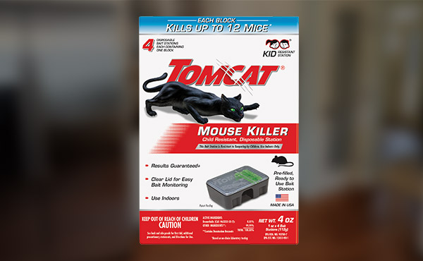 Tomcat Mouse Killer II Mouse Bait Station