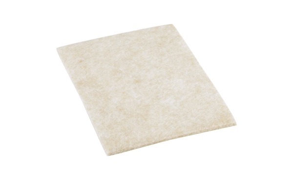 Do it 6 x 4-1\/4 In. Beige Self Adhesive Felt Guard Blanket,(2-Pack)