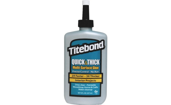 Titebond 8 Oz. Quick & Thick Multi-Surface Wood Glue