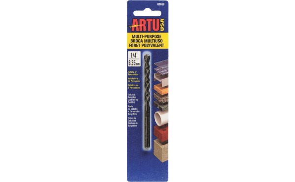ARTU 1\/4 In. Cobalt General Purpose Drill Bit