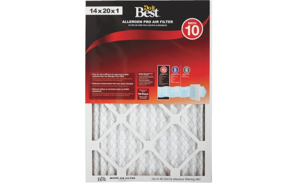 Do it Best. Allergen Pro MERV 10 Furnace Filter