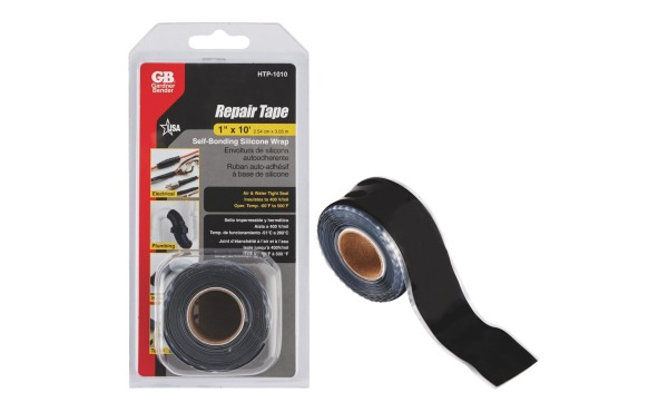 Gardner Bender Black 1 In. x 10 Ft. Self-Sealing Tape