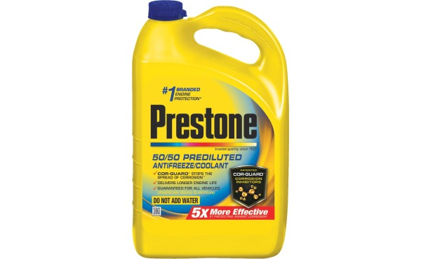 Prestone Gallon 50\/50 Pre-Diluted -84 F to 276 F Automotive Antifreeze