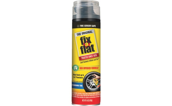 Fix-A-Flat 16 Oz. Aerosol Tire Puncture Sealer and Inflator