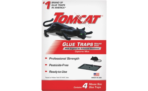 Tomcat Glue Mouse Trap (4-Pack)