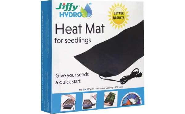 Jiffy Hydro 10 In. x 20 In. Seedling Heat Mat