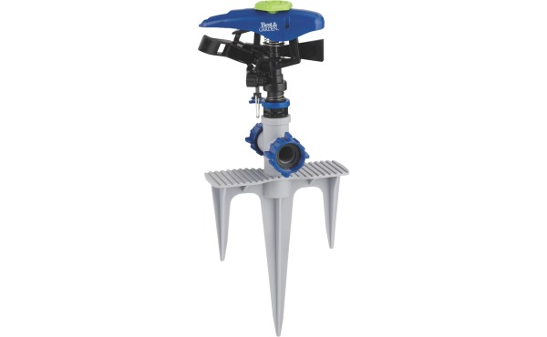 Best Garden Poly 5800 Sq. Ft. Triple Spike Impulse Sprinkler