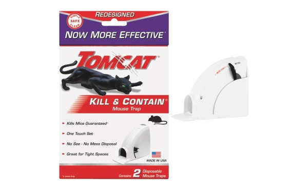 Tomcat Kill & Contain Mechanical Mouse Trap (2-Pack)