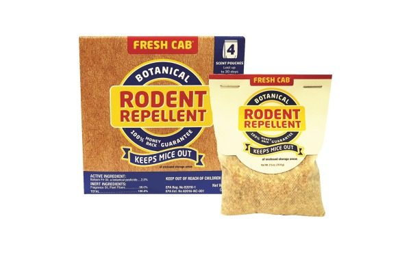 Fresh Cab 10 Oz. Granular Rodent Repellent (4-Pack)