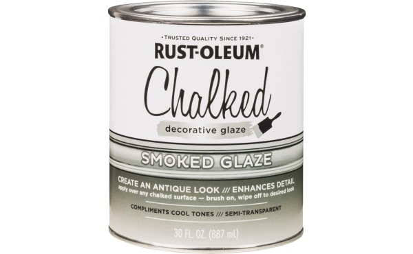 RusSmoked or Aged Glaze Rust-Oleum 30 Oz. Semi-Transparent Smoked Decorative Glaze