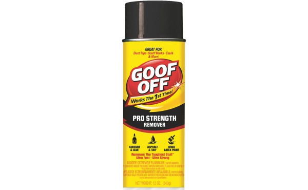 Goof Off 12 Oz. Aerosol Pro Strength Dried Paint Remover