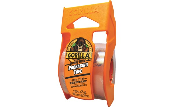 Gorilla 1.88 In. x 25 Yd. Clear Heavy Duty Packaging Tape