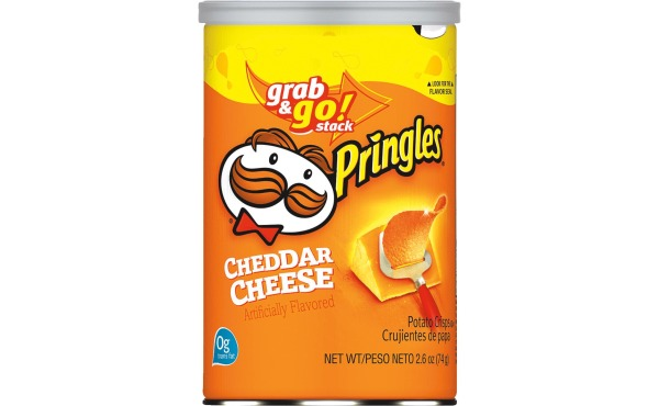 Pringles Cheddar Cheese 2.50 Oz. Chips
